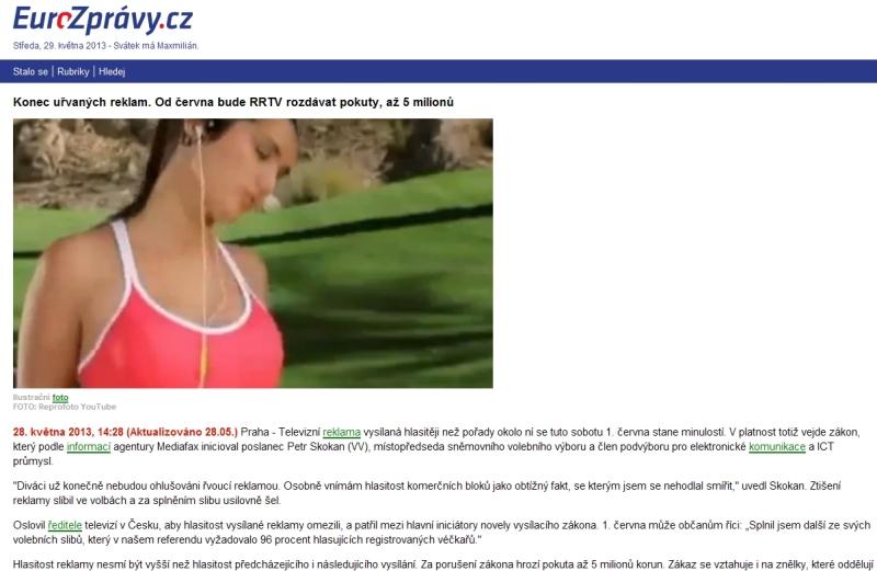EuroZprávy hlasitost reklamy 130529 800px