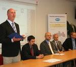 Projev Petra Skokana u příležitosti zakončení dostavby kanalizace v Kamenickém Šenově